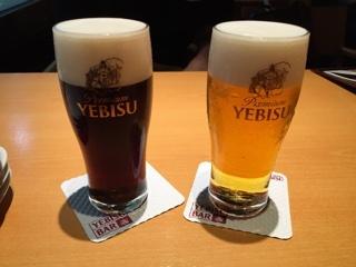 エビス&エビス(ハーフ&ハーフ) ・ エビスビール