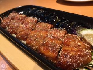 秋茄子と秋刀魚の蒲焼