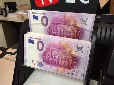 0ユーロ紙幣
