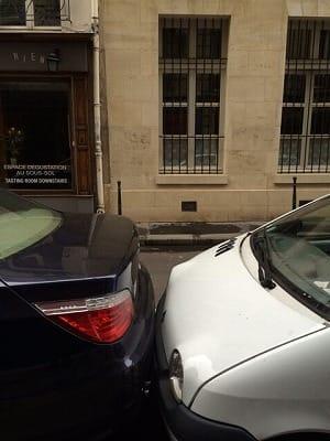 駐車の仕方