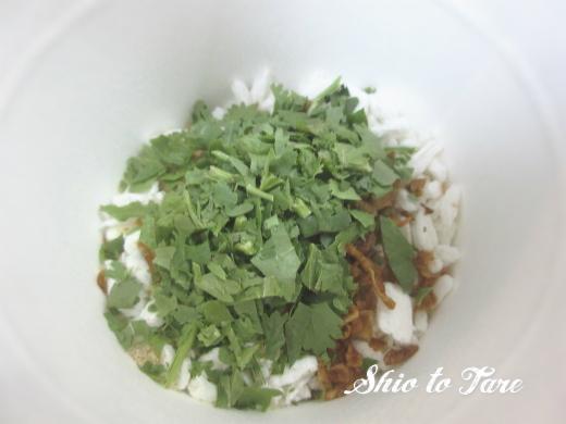 IMG_5504_20170715_03_Xin chao!ベトナムのスープ粥パクチー味
