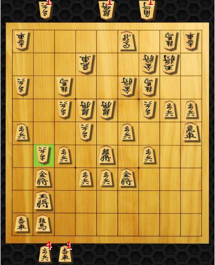将棋クエスト対局画面