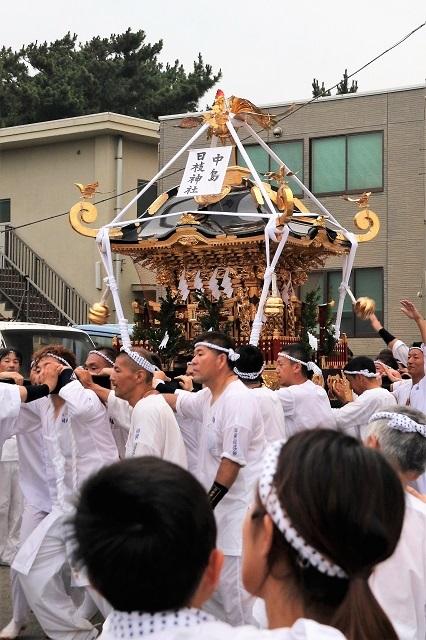 中島 日枝神社