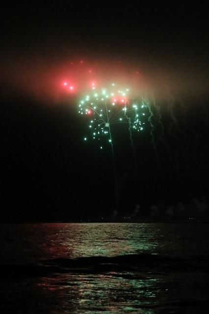 幻想的な花火