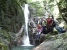 なかなか見栄えのする2段12m滝