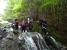 水流の中を快適に登る