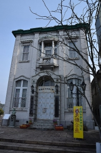 町並み資料館(旧周防銀行本店)