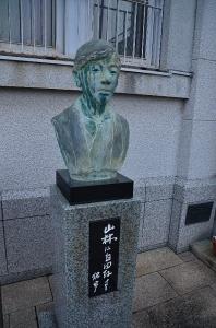 国木田独歩 胸像