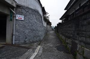 国木田独歩旧宅への道