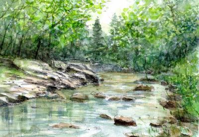 嵐山渓谷・槻川