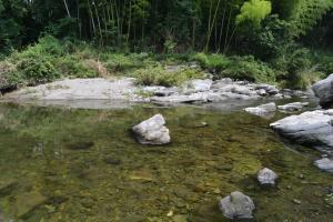 槻川の流れ