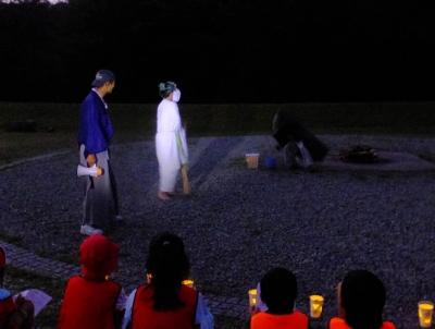 H29キャンプファイヤー②