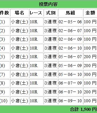 10729小倉