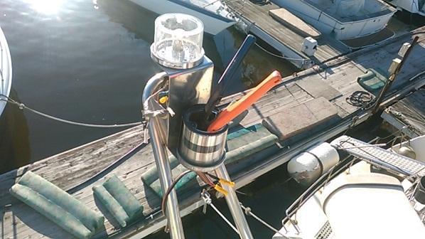航海灯修理