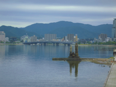 7.9宍道湖の風景1