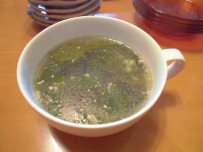 7.16モロヘイヤとオクラのスープ