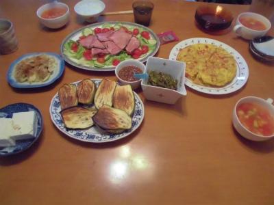 7.22夕食