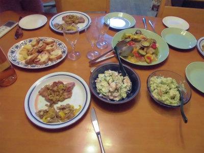 8.17夕食