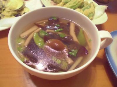 9.6茸のスープ
