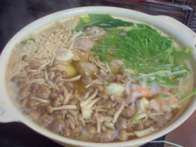 9.23肉団子鍋