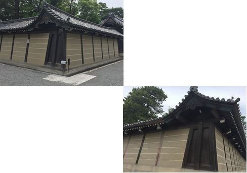 京都御所・北西と南西の角_H29.06.26撮影