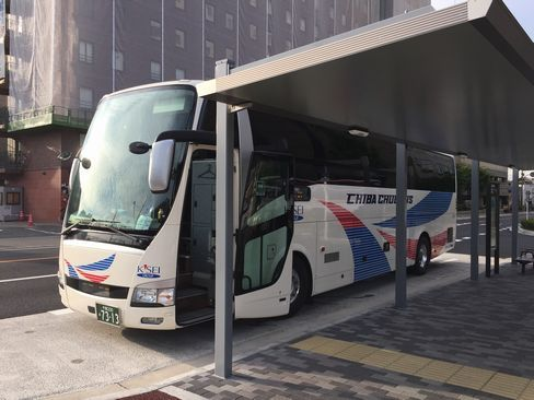 千葉中央バス・CC201便_H29.06.26撮影