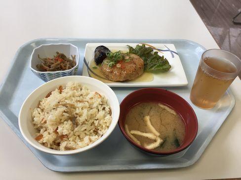京都府庁・豆腐ハンバーグ定食_H29.06.26撮影
