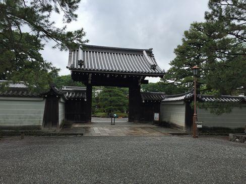 京都御苑・閑院宮邸跡_H29.06.28撮影