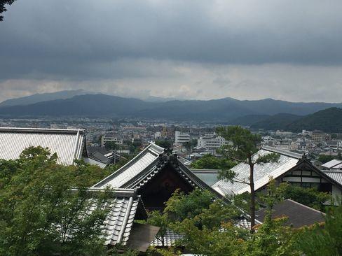 圓光寺から京都市街_H29.06.28撮影