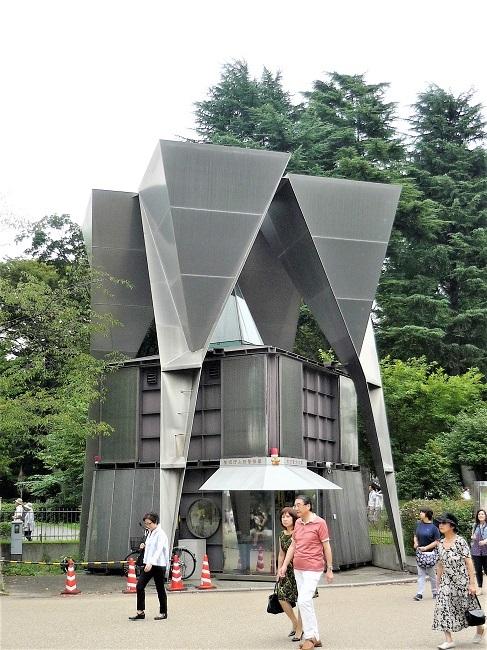 上野動物園前交番