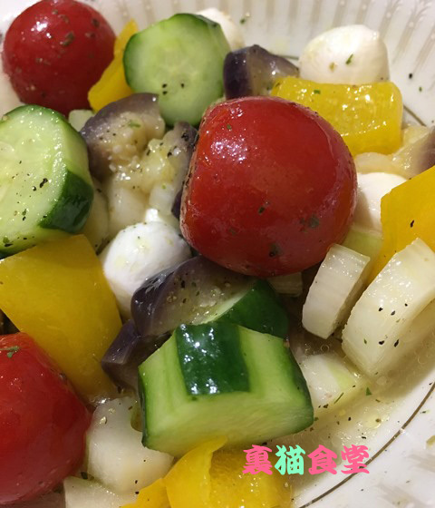 8月26日夏野菜のマリネ