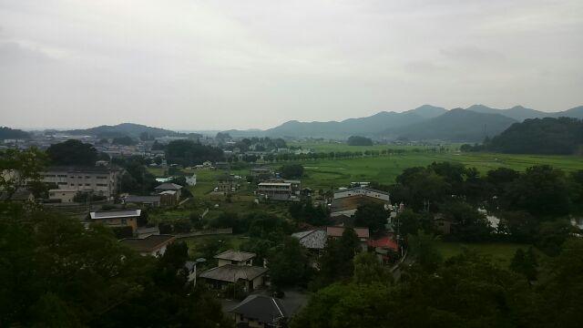 磯山弁財天からの景色2017