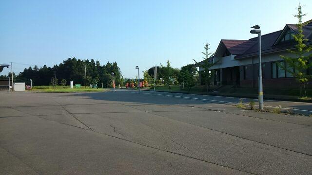 道の駅西山ふるさと公苑駐車場2017