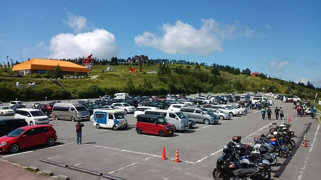 美ヶ原高原駐車場2017