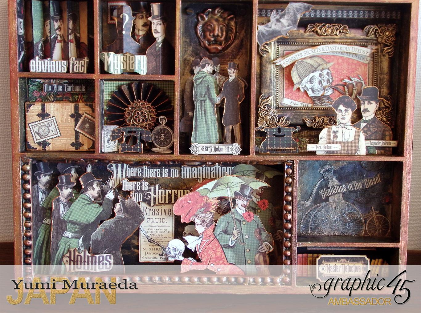7yuyu3MasterdetactiveSecretRoomdesignbyYumiMuraedaProductByGraphic45のコピー