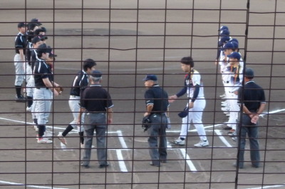 P8044819一塁側 G・スター対成仁会