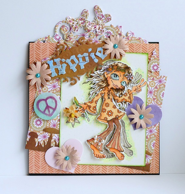 Bloobel Stamps Flower Power Card Making