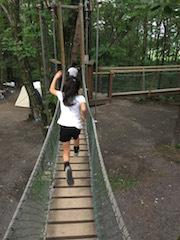 軽井沢旅_アスレチック1