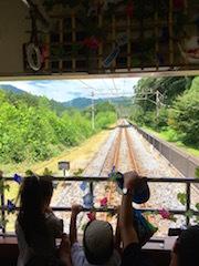 軽井沢旅_トロッコ列車