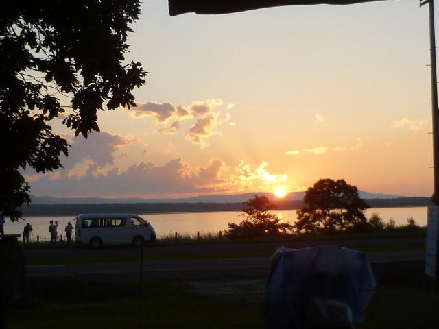コケム湖サンセット