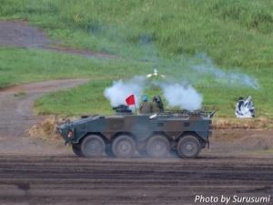 富士総合火力演習2017(87式対戦車誘導弾)