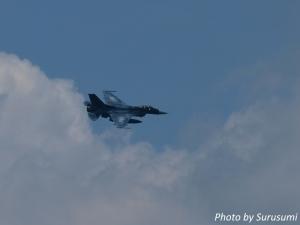 富士総合火力演習2017(F-2支援戦闘機)