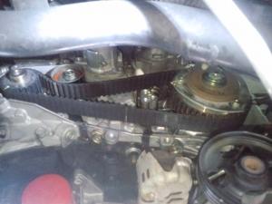 アトレー S320G タイミングベルト交換