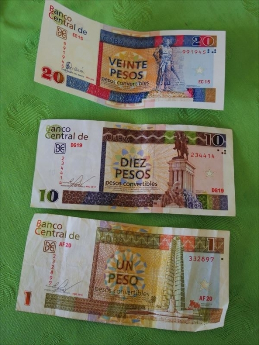 キューバのお金 (2)