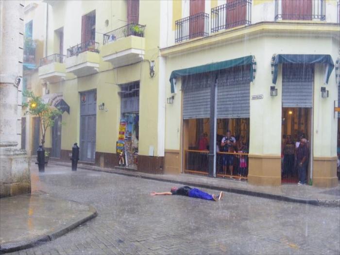 ハバナ大雨
