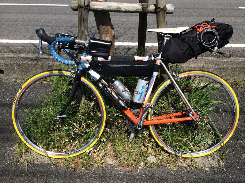 バイクパッキング装備