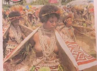 パプアニューギニア独立記念日パレード