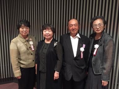 浅川地区から4名の皆さんが受賞