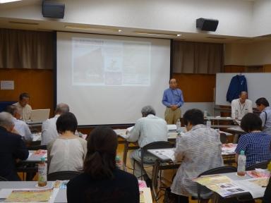 野脇実行委員長の開会の挨拶