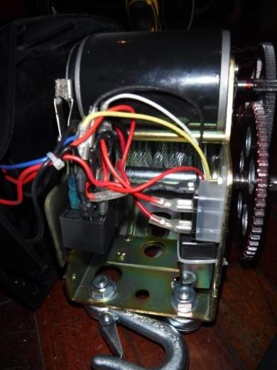 ポータブルウインチ修理 (10)